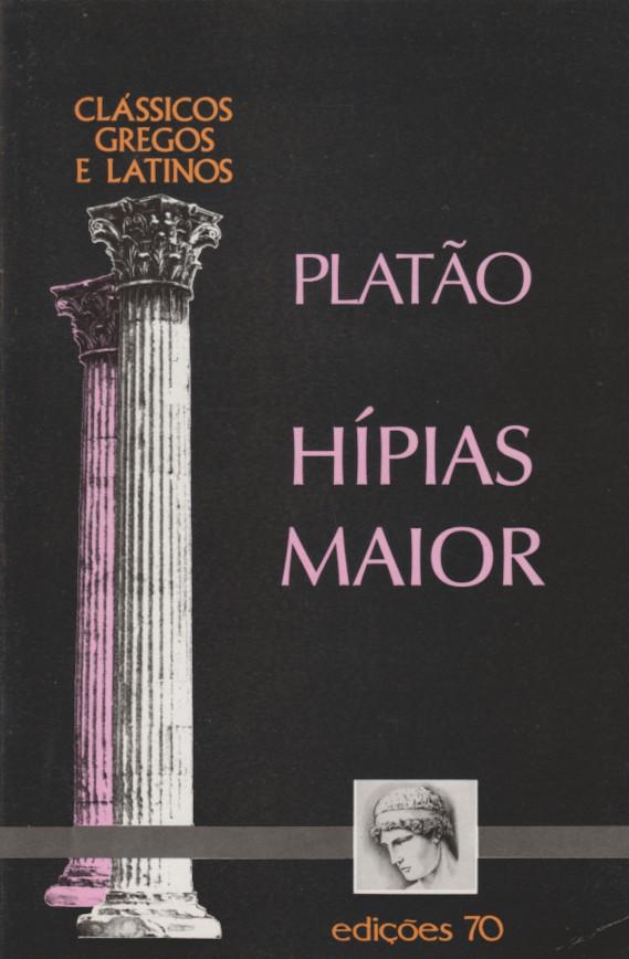 Hípias Maior (Portuguese language, 2000, Edições 70)
