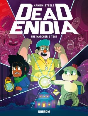 DeadEndia: The Watcher's Test (GraphicNovel, 2018, Nobrow Press)