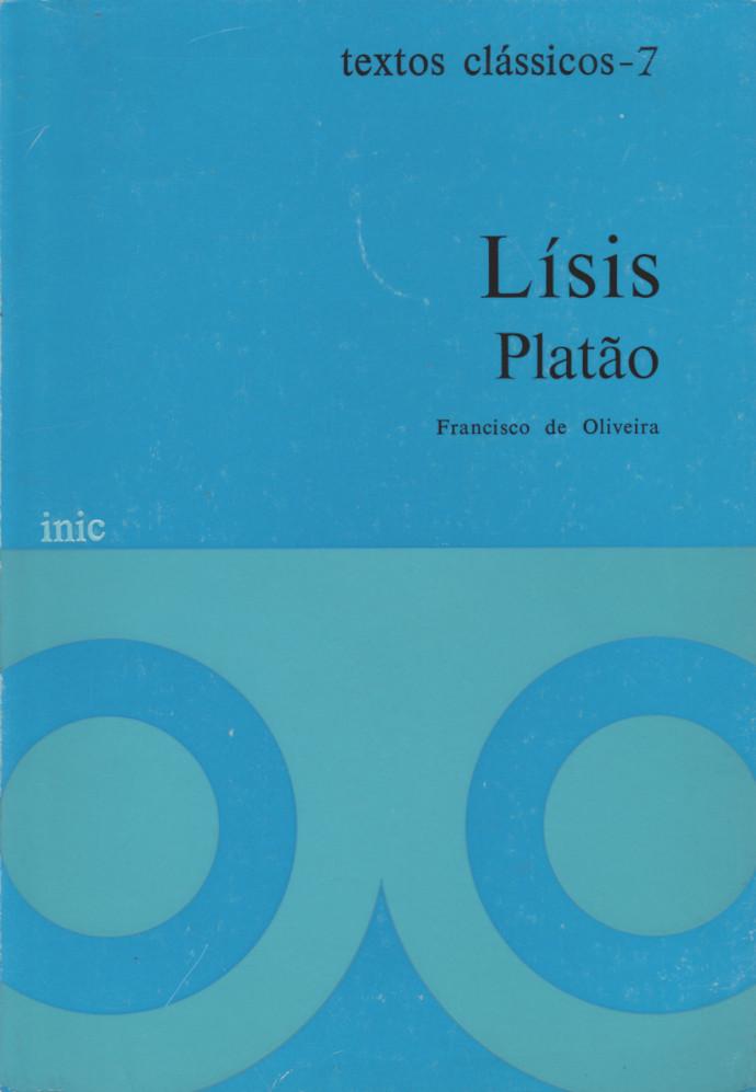 Lísis (Portuguese language, 1980, Instituto Nacional de Investigação Científica)